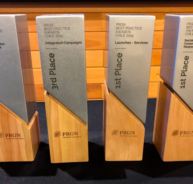 OneMulti with 4 PRGN Awards 2019